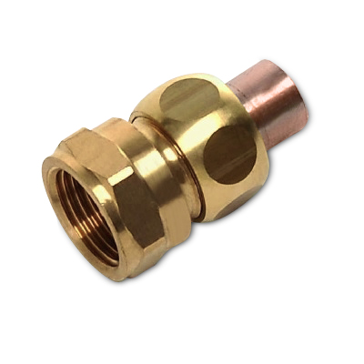 SANHA Соединение резьбовое коническое, медь/латунь, соединение пайка/внутренняя резьба, артикул 5340g