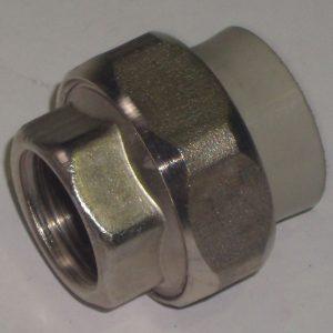 FIRAT муфты комбинированные разъемные, внутренняя резьба, PPR, PN25