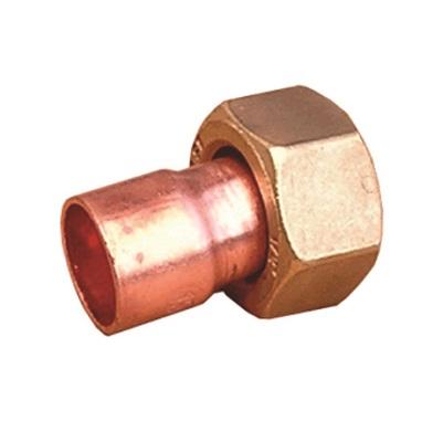 IBP муфта с накидной гайкой, медь, соединение пайка/ВР, артикул 5359g