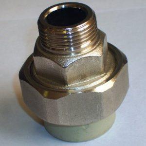 FIRAT муфты комбинированные разъемные, наружная резьба, PPR, PN25